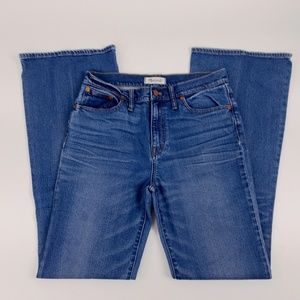 Madewell Jeans Sz 29 Flea Market Flares High Rise